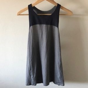 High Neck Lululemon Workout Tank with Open Back